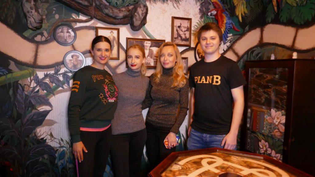 Escape Room Düsseldorf, Ekaterina More, Nina de Brand, Klaudija Paunovic, Plan B