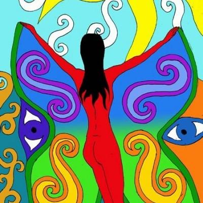 Schmetterlingsfrau, 2003