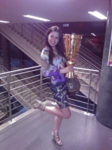 Autoball WM 2014 Pokal