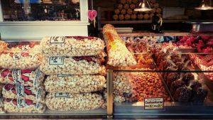 Mandeln Popcorn Rheinkirmes 2016 Düsseldorf