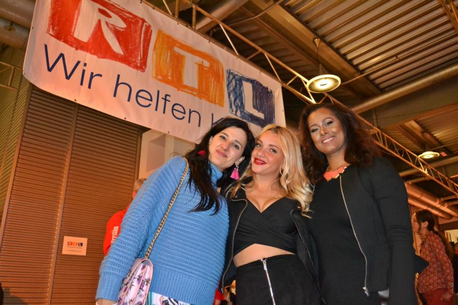 RTL Spendenmarathon Finale, Klaudija Paunovic, Evelyn Burdecki, fatima