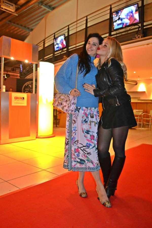 RTL Spendenmarathon Finale, Klaudija Paunovic, Evelyn Burdecki