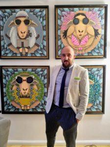 Adam Karamanlis und seine Schafskunst