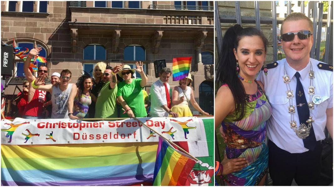"""Photo of CSD Düsseldorf 2017 Demo: """"Wir wollen nie wieder schwule Sau hören!"""""""