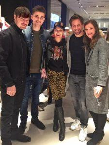 Sam Riley, Alexandra Maria Lara, Ken Duken und Klaudija Paunovic beim Calvin Klein Opening