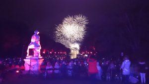 Feuerwerk Lichterfest Schloss Benrath