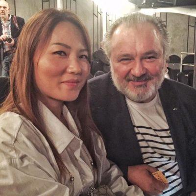 Basile Mourikis mit Frau Suni
