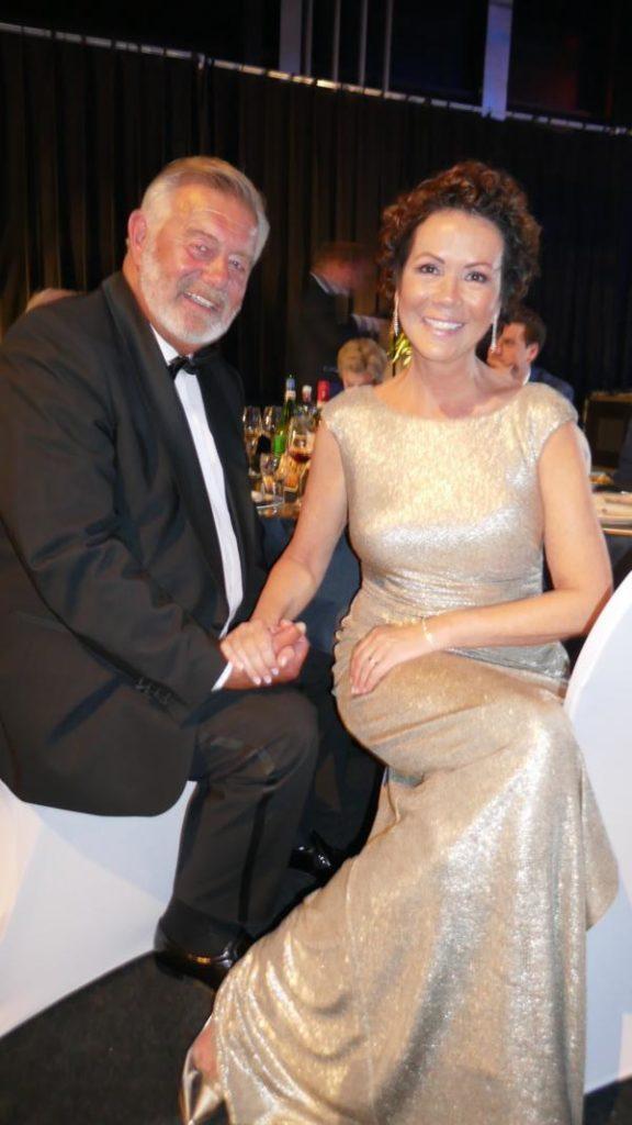 Harry Wijnvoord und Iris Dahlke, Goldene Sonne Gala 2019
