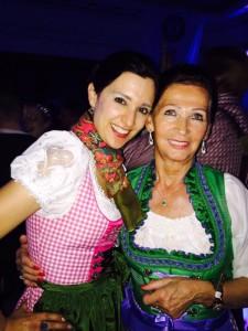 Aurelie Schulz Klaudija Paunovic Oktoberfest Düsseldorf