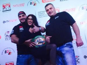 Hamudi Al Zein, Klaudija Paunovic und Ali Al Zein