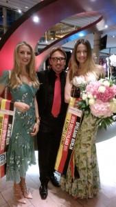 Miss Deutschland 2013 mit Detlef Tursies