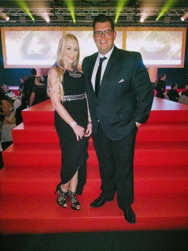 Patricia und Dennis Schick, Goldene Sonne 2018 Gala
