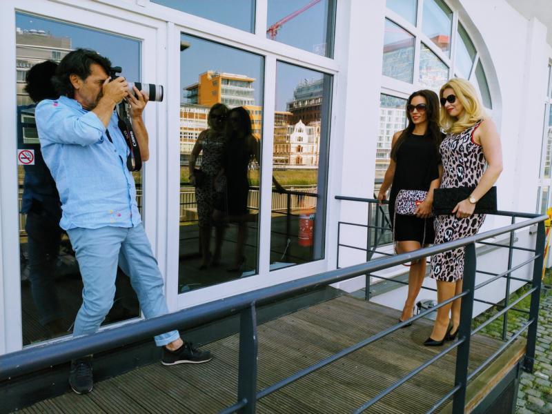 Cuplé Düsseldorf Fotoshooting