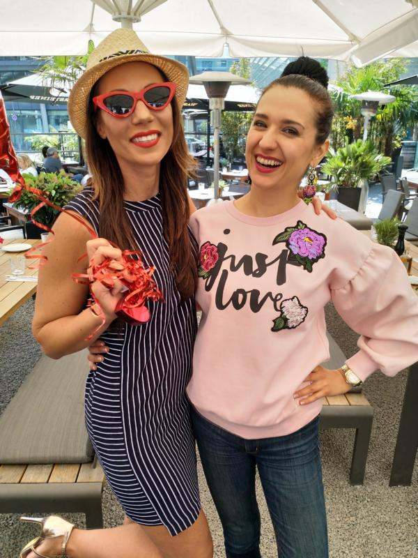 Bloggerinnen Klaudija Paunovic und Anja Katharina Baudeck