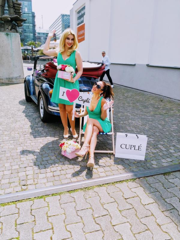 Cuplé Düsseldorf Fashion, Isabella Basile, Anja Katharina Baudeck