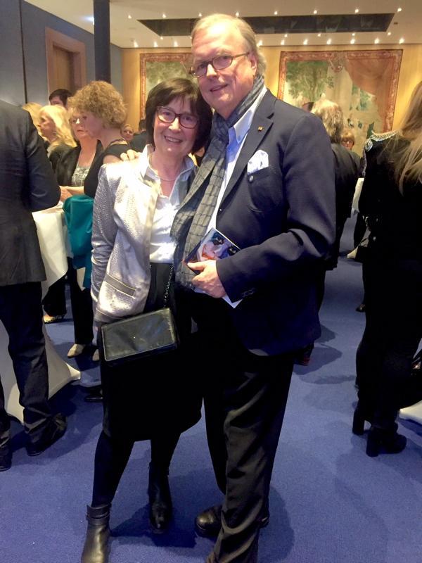 Spendezeit-Gala, Heribert Klein mit Frau Jutta Klein