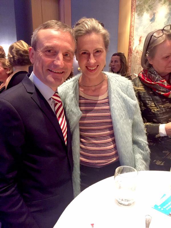 Spendezeit Gala, OB Thomas Geisel mit Frau Vera Geisel
