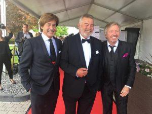 Jörg Dräger, Harry Wijnford und Werner Schilze-Erdel auf der Verleihung der goldenen Sonne 2017
