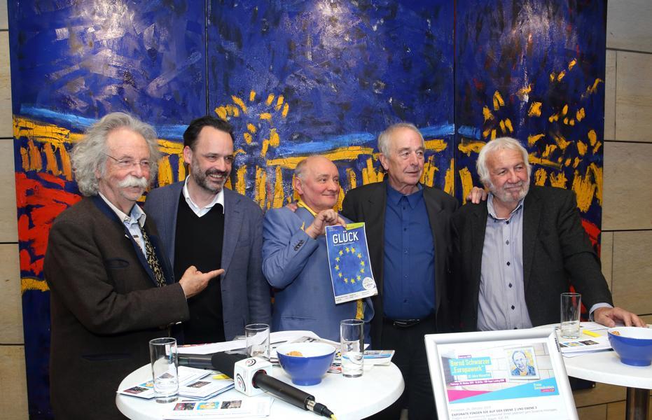 Jean Pütz, Lorenz Deutsch, Bernd Schwarzer, Dieter Ronte und Elmar Zorn.