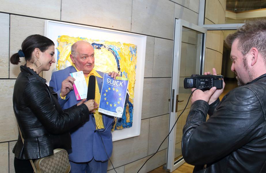 Bernd Schwarzer mit Klaudija Paunovic