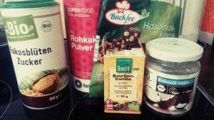 Schokoladen Rohkost Pralinen Alternative zu Ferrero Rocher