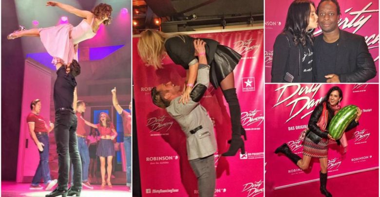 Photo of Dirty Dancing Musical Premiere in Köln: Evelyn Burdecki hebt mit Nico Schwanz ab
