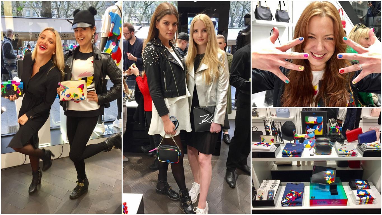 Photo of Karl Lagerfeld Store Düsseldorf: Promis feiern Steven Wilson Kollektion