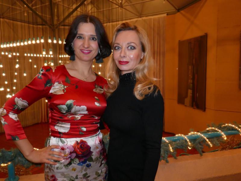 Unicef Gala Hilden 2018, Ekaterina More und Klaudija Paunovic