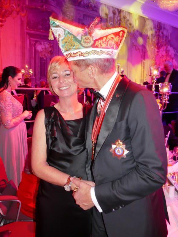 Prinzenball 2019, Josef Hinkels und Nicole
