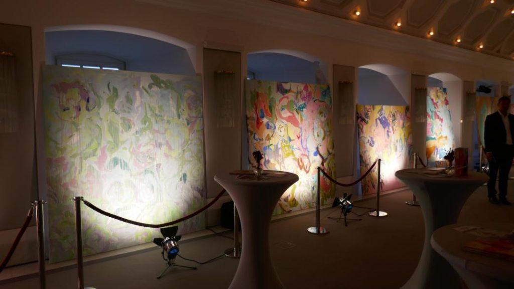 Elena Panknin Ausstellung Deutsche Bank