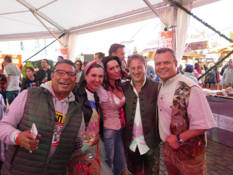 Leggi Alagui, Klaudija Paunovic, Anja Katharina Baudeck, Dr. Karl Schuhmann und Carsten Fritz.