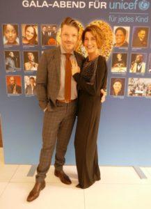 Alice und Hardy Krüger jr. auf der UNICEF Gala 2019 in Düsseldorf/Neuss