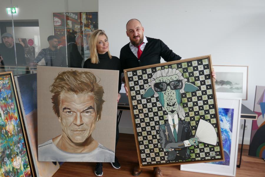 Elena Panknin und Adam Karamanlis