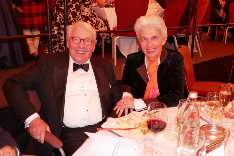 Agnes Strack-Zimmermann mit ihrem Mann Horst