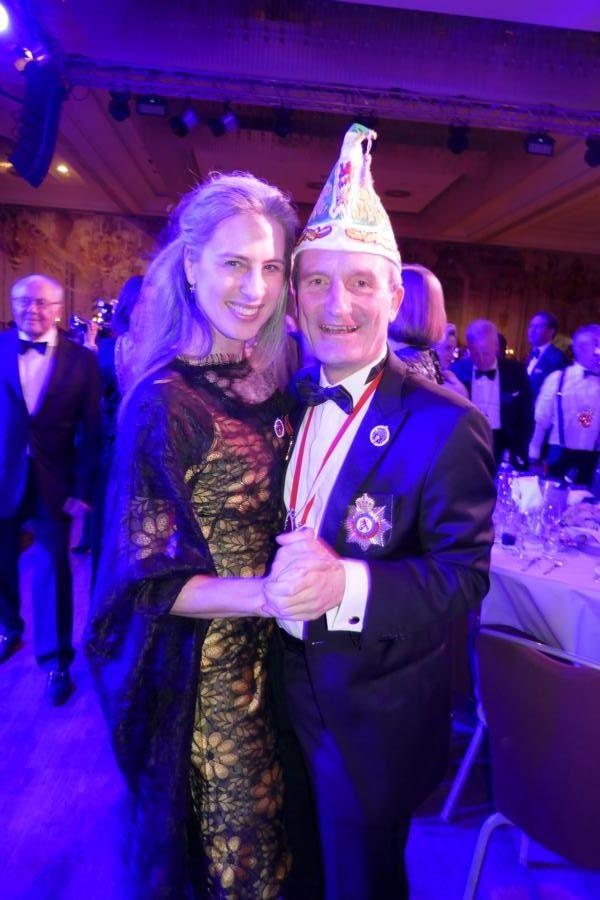 Vera und Thomas Geisel auf dem prinzenball 2020