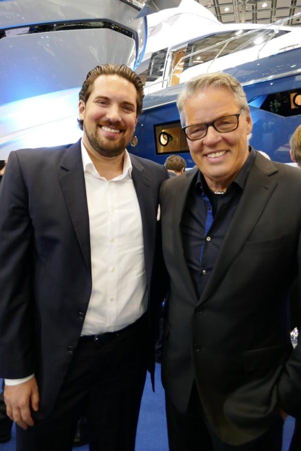 Sebastian und Heiner Kamps auf der Blue Motion Night der Boot 2020