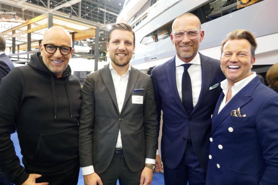 Sandro und Thomas Rath, David Lehr, Andreas Rebbelmund