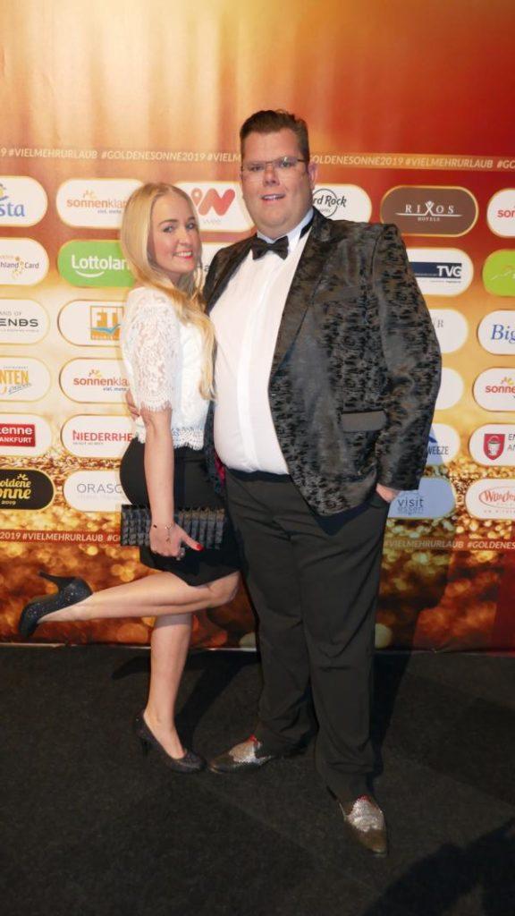 Patricia und Dennis Schick, Goldene Sonne Gala 2019