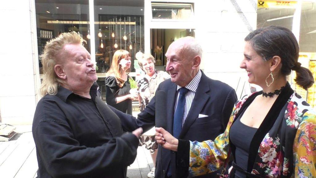 Albert Eickhoff trifft HA Schult