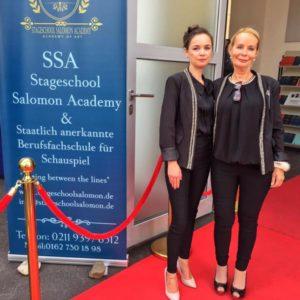 Marie Salomon, Carmen Sanne Salomon, Schauspielschule Salomon Düsseldorf