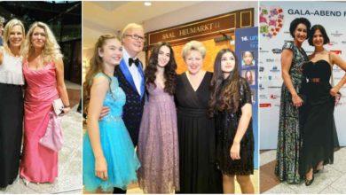 Unicef Gala Köln 2018, Marie-Luise Marjan, Nina Ruge, Claudia Berger, Alice Krüger, Klaudija Paunovic, Sophie Marie Keßler, Selina Tulasoglu und Sara Engec