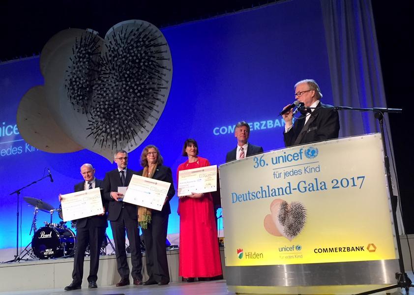 Unicef Gala Hilden 2017
