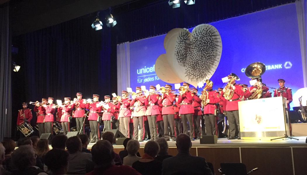 Unicef Gala Hilden 2017, Bundesfanfarenkorps