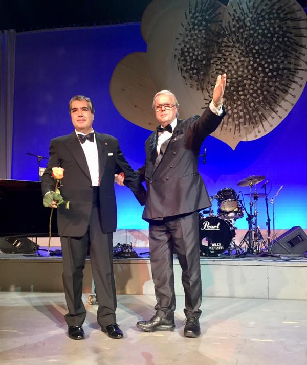 Unicef Gala Hilden 2017, Ricardo Tamura, Heribert Klein