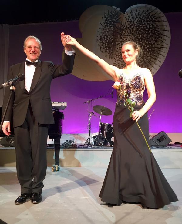 Unicef Gala Hilden 2017, Stephen Harrison und Anke Krabbe