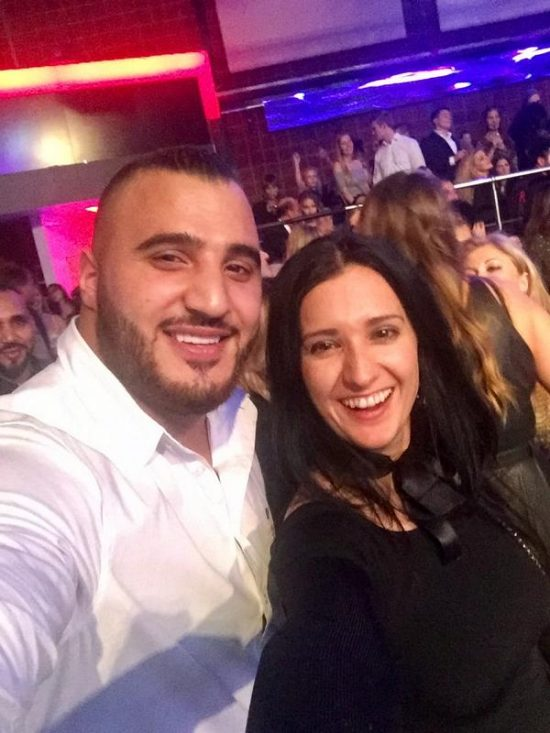 Hamudi Al Zein mit Klaudija Paunovic