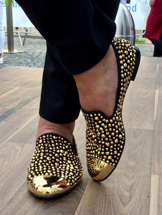 Adnan Eken glänzte mit diesen Schuhen.