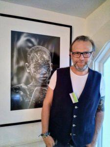 Andreas Bretz vor seinem Lieblingsfoto