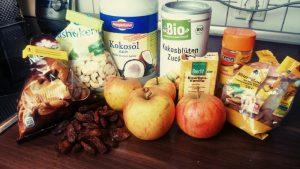 Rohkost Apfelkuchen vegan glutenfrei
