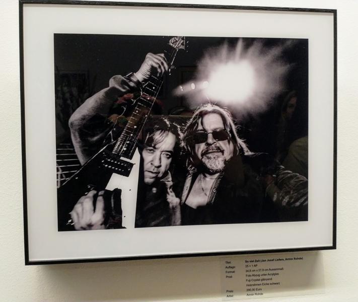 Armin Rhode, Jan Josef Liefers, Gestohlenes Licht Kunstausstellung Sander & Sohn Düsseldorf
